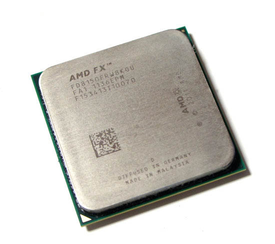 CPU AMD Bulldozer FX-8150