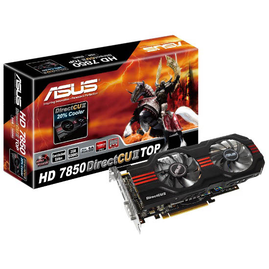 ASUS HD_7850_DirectCU_II_TOP