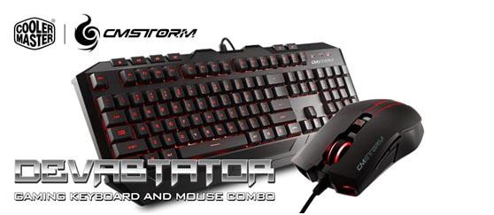 Kit Cm Storm Devastator Combo Tastiera Mouse Da Gaming