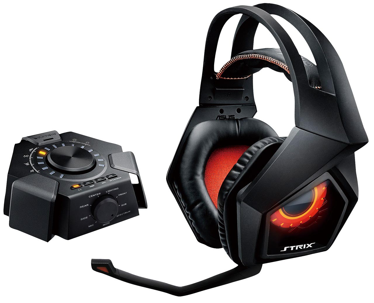 asus annuncia le cuffie gaming strix 7 1 true 7 1 surround bits and chips. Black Bedroom Furniture Sets. Home Design Ideas