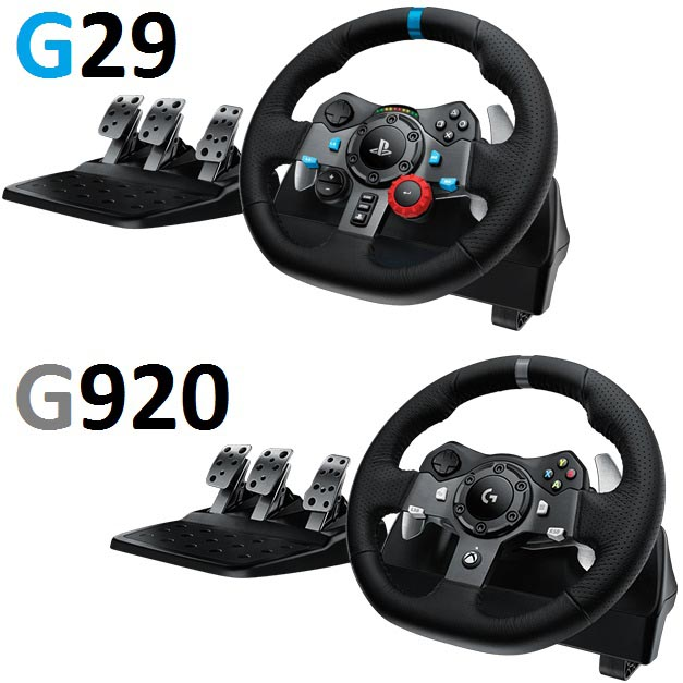 logitech presenta i volanti g29 ps3 ps4 e g920 xbox one pc bits and chips. Black Bedroom Furniture Sets. Home Design Ideas