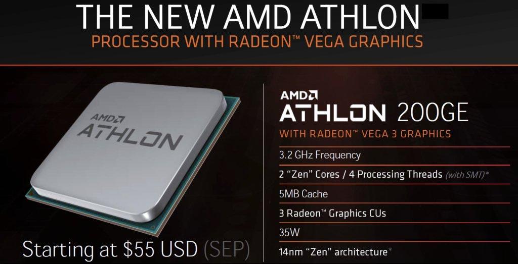 meticolosi processi di tintura vendita a basso prezzo vendita calda a buon mercato AMD Athlon 200GE: la migliore CPU di fascia entry level in ...
