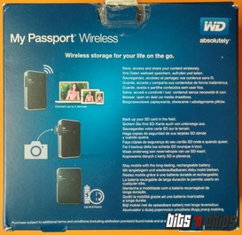 wd wireless confezione rear