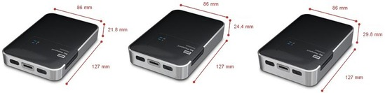 wd mypassport wireless dimensioni